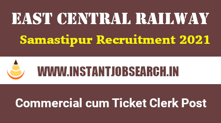 ECR Ticket Clerk Recruitment 2021