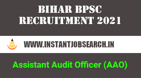 Bihar BPSC AAO Recruitment 2021
